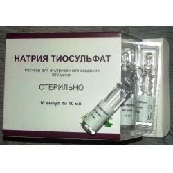 Метод применения тиосульфата натрия