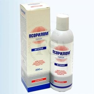 Лечение псориаза шампунем Псорилом