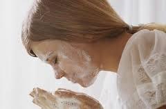 Умывания при себореи лица