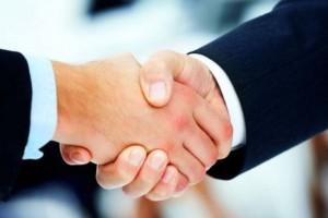 Передача ВПЧ рукопожатием