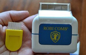 Гребешок RobiComb от вшей