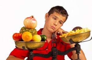 Роль питания на подростковое выпадение волос
