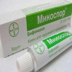 Микоспор - крем от лишая