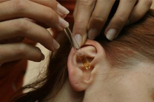 Лечение ушного грибка у человека