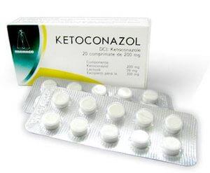Лечение разноцветного лишая кетоконазолом